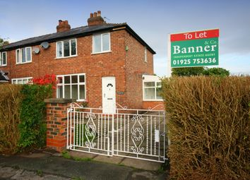 Thumbnail 3 bed semi-detached house to rent in Adey Road, Lymm