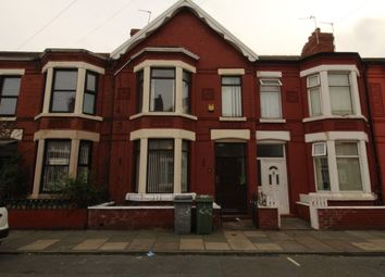 Thumbnail 4 bed terraced house to rent in Park Road, Wallasey