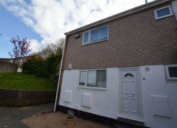 Thumbnail 2 bedroom maisonette to rent in Bellingham Crescent, Plympton, Plymouth, Devon
