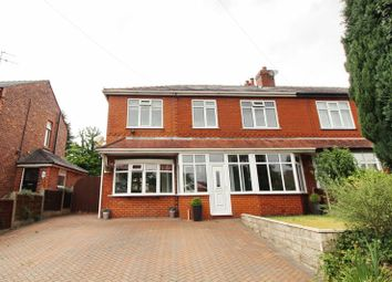 Thumbnail 4 bed semi-detached house for sale in Douglas Road, Worsley, Manchester