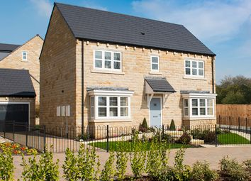 "Thumbnail 4 bed detached house for sale in ""The Oakwood"" at Low Hall Road, Horsforth, Leeds"