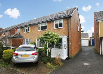 Thumbnail 3 bed semi-detached house for sale in Langley Walk, Crawley, West Sussex.