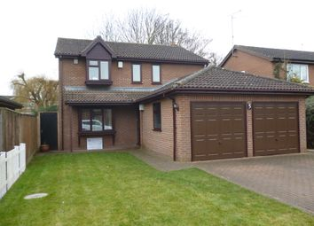 Thumbnail 4 bed detached house for sale in Riverside Mead, Stanground, Peterborough