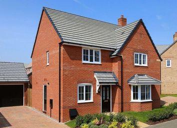 "Thumbnail 4 bedroom detached house for sale in ""Cambridge"" at Fen Street, Brooklands, Milton Keynes"