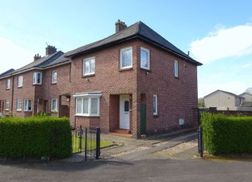 Thumbnail 4 bed end terrace house for sale in Dumbuck Road, Dumbarton