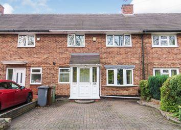 3 bed terraced house for sale in Fordbridge Road, Kingshurst, Birmingham B37