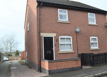 Thumbnail 2 bed semi-detached house to rent in Frederick Street, Woodville, Swadlincote