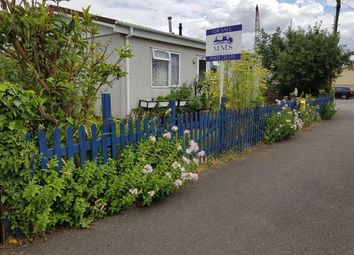 Thumbnail 2 bed mobile/park home for sale in Hoo Marina Park, Vicarage Lane, Rochester