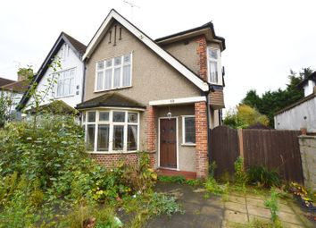 Thumbnail 3 bed semi-detached house for sale in Prince Avenue, Southend On Sea, Essex