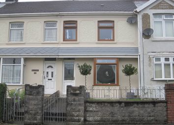 Thumbnail 2 bed terraced house for sale in Brecon Road, Ystradgynlais, Swansea, City And County Of Swansea.
