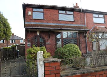 Thumbnail 3 bed semi-detached house for sale in Byron Avenue, Droylsden, Manchester