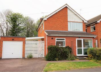 Thumbnail 3 bed detached house for sale in Somerby Drive, Oadby