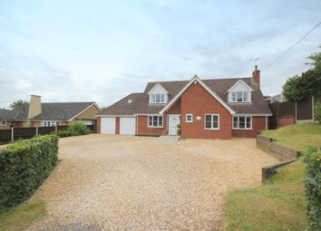 Thumbnail 4 bed detached house for sale in Kabin Road, Costessey, Norwich