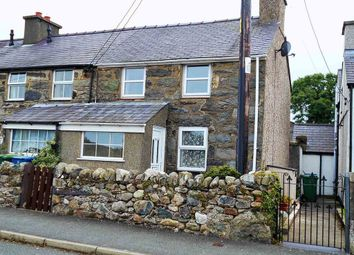 Thumbnail 2 bedroom terraced house to rent in Erw Terrace, Bethel, Caernarfon