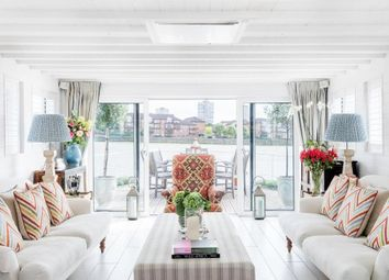 Thumbnail 3 bed houseboat to rent in Cheyne Walk, Chelsea