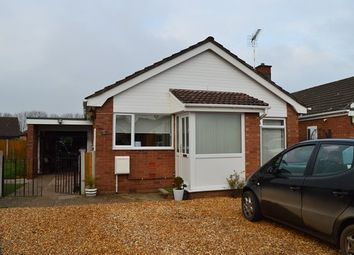 Thumbnail 2 bed detached bungalow for sale in Quorn Grove, Market Drayton