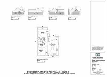 Thumbnail 2 bed detached bungalow for sale in Off Kirklington Road, Bilsthorpe, Nottinghamshire