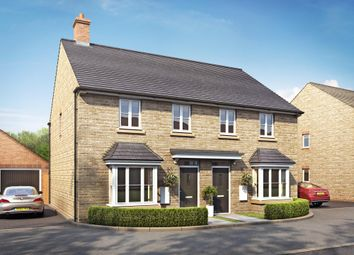 "Thumbnail 2 bedroom semi-detached house for sale in ""Hutchins"" at Field Close, Longworth, Abingdon"