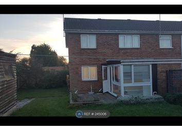 Thumbnail 3 bedroom end terrace house to rent in Grange Road, Northampton