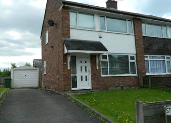 Thumbnail 3 bedroom semi-detached house to rent in Stoneleigh Drive, Radcliffe, Manchester