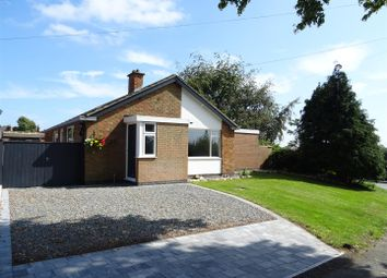Thumbnail 3 bed detached bungalow for sale in Manor Road, Heather, Leicestershire