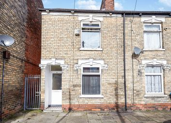 Thumbnail 2 bed end terrace house for sale in Pitt Street, Hull