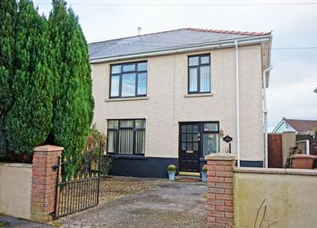 Thumbnail 3 bed semi-detached house for sale in Ashgrove, Hengoed