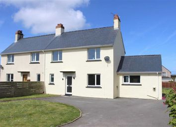 Thumbnail 3 bed semi-detached house for sale in Lindsway Villas, St Ishmaels, Haverfordwest