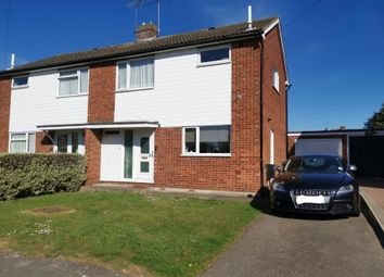 Thumbnail 3 bed semi-detached house for sale in Canford Close, Great Baddow, Chelmsford