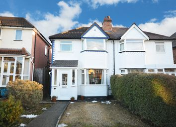Thumbnail 3 bed semi-detached house for sale in Woodvale Road, Hall Green, Birmingham