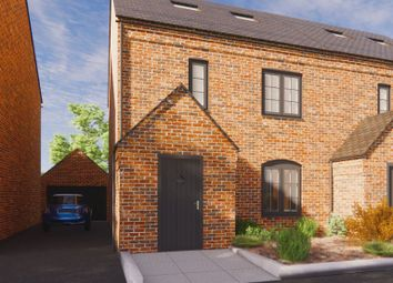 Thumbnail 3 bed semi-detached house for sale in Plot 2, Dairy Mews, Luke Lane, Brailsford