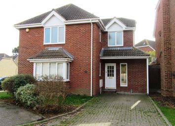Thumbnail 4 bedroom detached house to rent in Lambourn Close, Shoeburyness, Southend-On-Sea