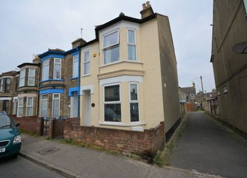 Thumbnail 3 bed end terrace house for sale in Beaconsfield Road, Lowestoft