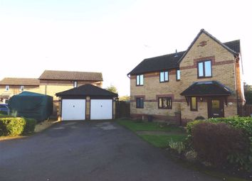 Thumbnail 4 bed detached house for sale in Oak Drive, Woodford Halse, Northants