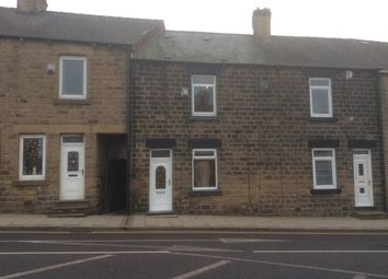 Thumbnail 2 bed terraced house to rent in The Crescent, Barnsley Road, Cudworth, Barnsley