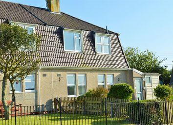 Thumbnail 3 bed semi-detached house for sale in Treviskey Hill, Portloe, Truro