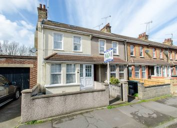 Thumbnail 3 bedroom end terrace house for sale in Russell Road, Gravesend