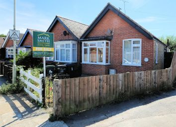 Thumbnail 2 bed semi-detached bungalow for sale in Clare Road, Tankerton, Whitstable, Kent