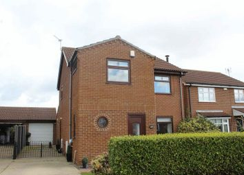 Thumbnail 3 bed detached house for sale in Blackbird Close, Bradwell, Great Yarmouth