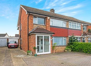 Thumbnail 4 bedroom semi-detached house for sale in Imperial Drive, Gravesend, Kent, Gravesend