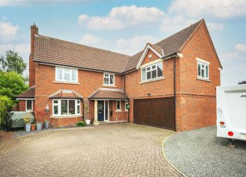 Thumbnail 5 bed detached house for sale in Hayley Croft, Duffield, Derbyshire