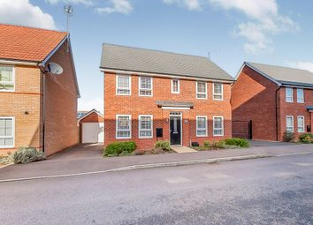 Thumbnail 4 bedroom detached house for sale in Mid Water Crescent, Hampton Vale, Peterborough
