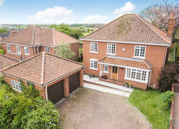 Thumbnail 4 bed detached house for sale in Glebe Rise, Burgh Le Marsh, Skegness