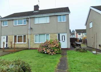 Thumbnail 3 bed semi-detached house to rent in St. Donats Court, Caerphilly