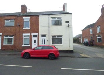 Thumbnail 2 bed end terrace house to rent in Station Road, North Wingfield, Chesterfield