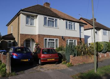 Thumbnail 3 bed semi-detached house for sale in Church Road, Byfleet, Surrey