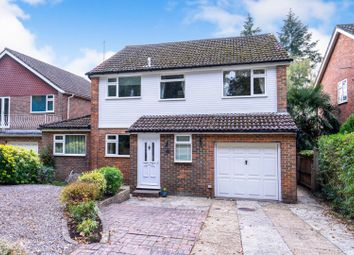Thumbnail 4 bed detached house for sale in Tree Tops Avenue, Camberley
