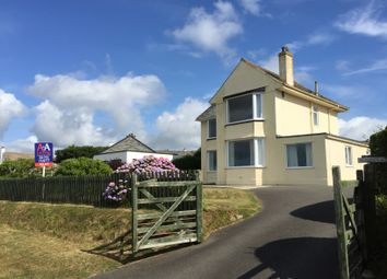 Thumbnail 4 bed detached house to rent in Cliff Road, Crafthole, Torpoint