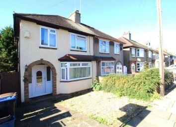 Thumbnail 3 bed semi-detached house for sale in Fullingdale Road, Northampton, Northamptonshire