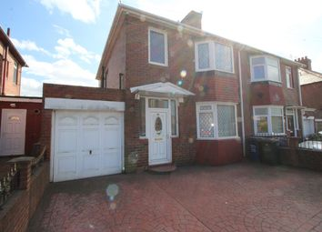 Thumbnail 3 bed semi-detached house for sale in Stamfordham Road, Westerhope, Newcastle Upon Tyne